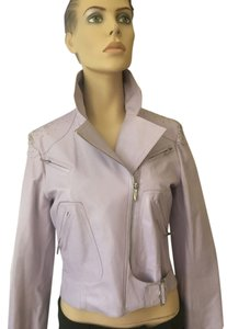 Dior Beaded lavender Leather Jacket