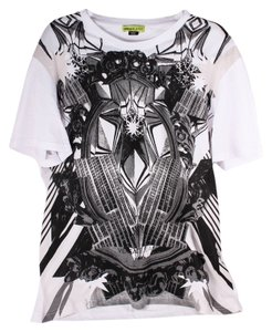 Versace Mens Urban T Shirt White/Black
