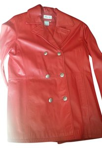 Blushe Red Leather Jacket