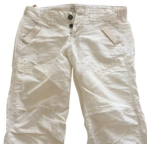 Free People Cargo Pants White