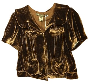 Marc by Marc Jacobs Velvet Top