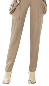 BCBGMAXAZRIA Trouser Pants Light Java/Olive