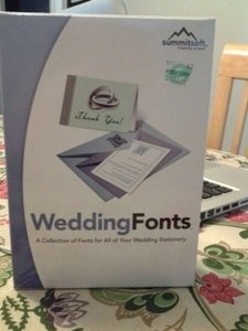 Wedding Font Software