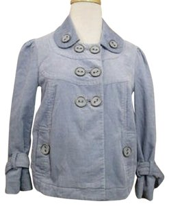 Anthropologie Grey-blue Jacket