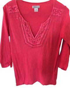 Lucky Brand T Shirt Coral