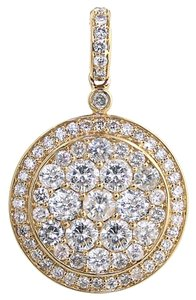 ABC Jewelry Medallion Diamond Pendant
