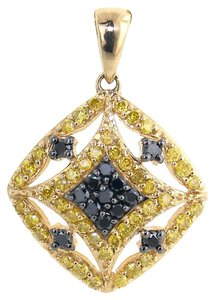 ABC Jewelry Pave Diamond Pendant