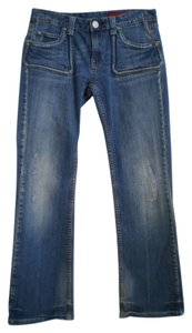 Vigoss Boot Cut Jeans-Distressed