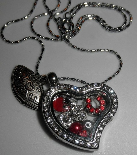 Other SOLD OUT OSU Buckeyes Love Locket Necklace