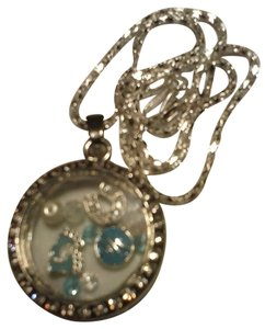 UNC Tarheels Love Locket Necklace