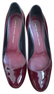 Marc by Marc Jacobs Maroon Wedges