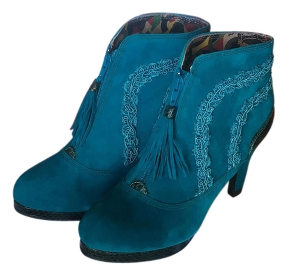 ladies Teal Teal ladies Corbusier Boots/Booties Most economical 35e7df