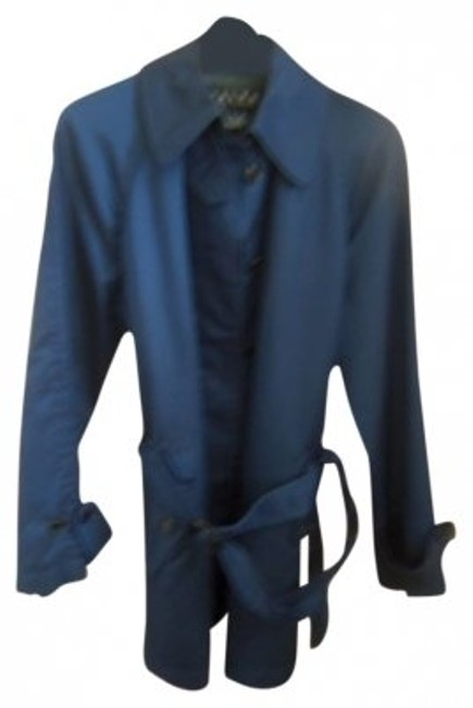 Preload https://item1.tradesy.com/images/ralph-lauren-royal-blue-belted-trench-coat-size-8-m-14415-0-0.jpg?width=400&height=650