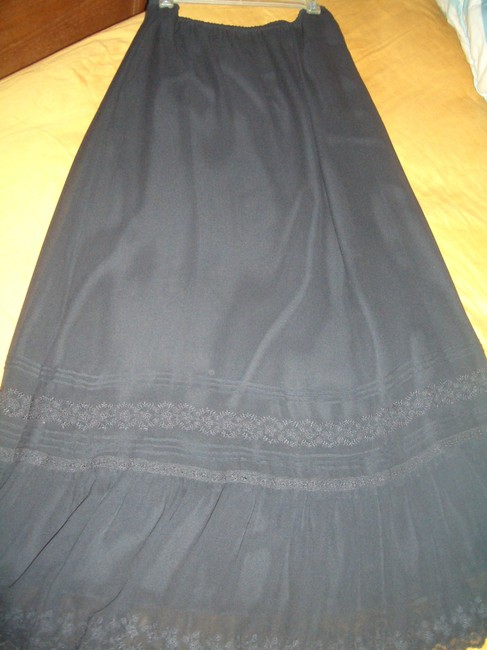 Sunny Leigh Maxi Skirt BLACK