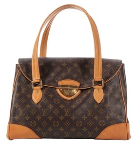 Louis Vuitton Lv Beverly Xxl Weekender Shoulder Bag