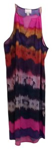 Donna Morgan short dress Pink, Orange, Purple on Tradesy