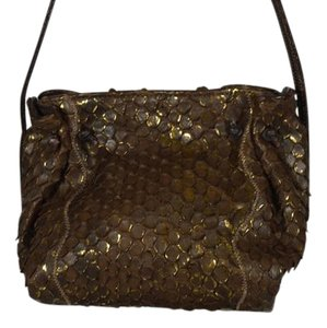 Carlos Falchi Python Cross Body Bag