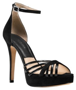 Michael Kors Kinsley Black Platforms