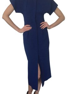 Navy Maxi Dress by Maison Margiela