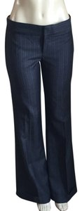 Juicy Couture Straight Pants Gray and blue