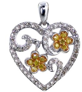 ABC Jewelry Diamond Hearet Pendant
