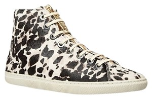 Burberry Sneakers Penford High Top Animal Print Boots