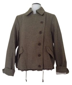 Gap Jacket Lined Wool Pea Pea Coat