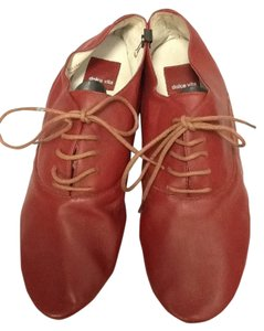 Dolce Vita Leather Casual Red Flats