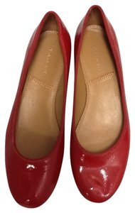 Tahari Patent Leather Casual Red Formal