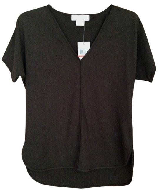 Item - Brown XS New Fall Collection 2014 V-neck Goldtone Tunic Size Petite 0 (XXS)