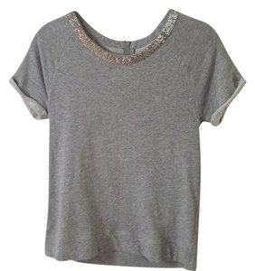 Madewell Top Grey