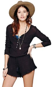 Free People Romper Drop Waist Casual Knit Dress