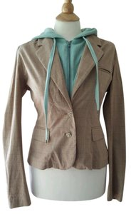 Joie Hooded Beige Jacket