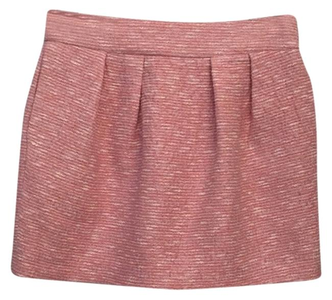 Zara Tweed Skirt Pink