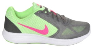Nike Lime green+ hot pink+graphite Athletic