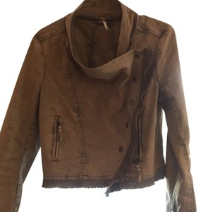 Free People Tan Jacket