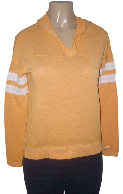 Preload https://item2.tradesy.com/images/hollister-orange-cotton-blend-v-neck-long-sleeve-hooded-sweaterpullover-size-2-xs-14419651-0-1.jpg?width=400&height=650