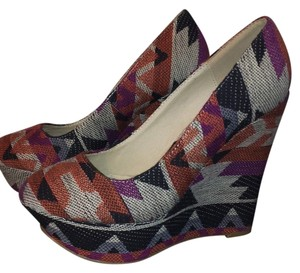 Charlotte Russe Multi Wedges