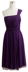 J.Crew One Silk Chiffon Formal Bridesmaid Dress