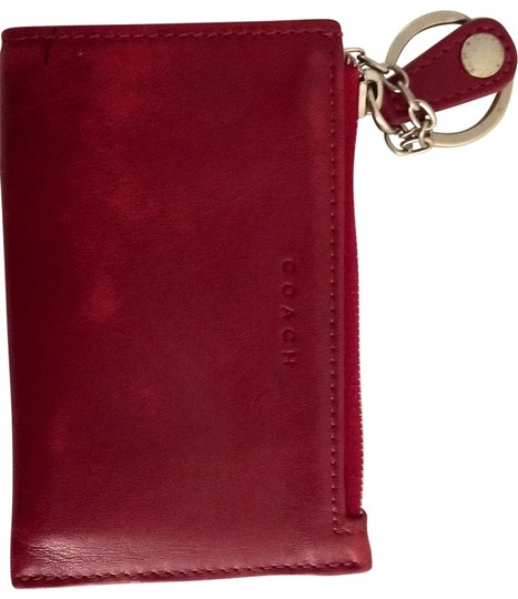 Preload https://item1.tradesy.com/images/coach-wallet-red-wristlet-144205-0-0.jpg?width=440&height=440