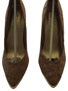 Frederick's of Hollywood Stileeto Cork Pumps