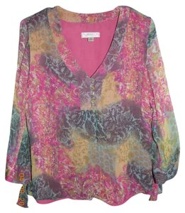 Coldwater Creek Colorful Top Multi