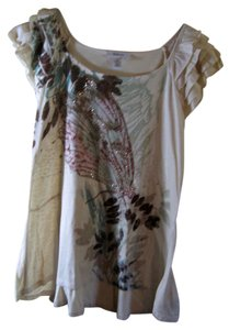 Style & Co Size M Top Warm tones