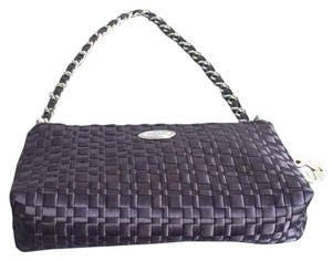 The Sak Woven Metallic Hardware Shoulder Bag
