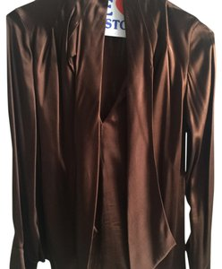 Badgley Mischka Top Brown