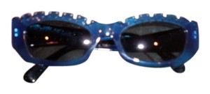 Claude Montana MONTANA ELEGANT BLUE FRAME, HAND MADE IN FRANCE STYLISH SUNGLASSES