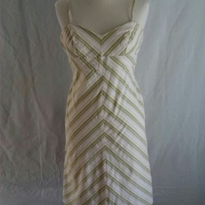 Banana Republic short dress Pastel stripes Preppy on Tradesy
