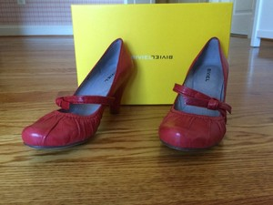 Anthropologie Red Pumps