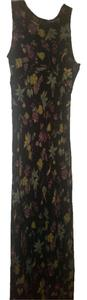Fall floral on black Maxi Dress by Nordstrom