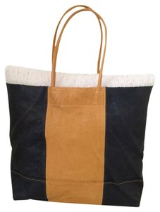 Banana Republic Tote in Blue And Mustard